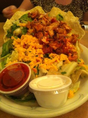 Family Pancake House: one hell of a taco salad