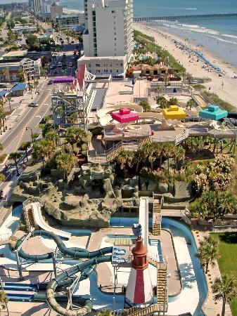 Westgate Myrtle Beach Oceanfront Resort : View from Balcony