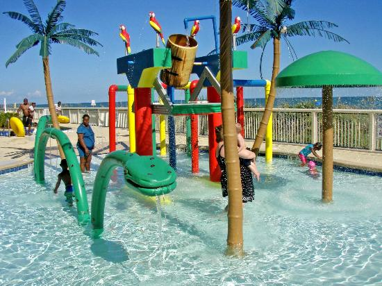 Westgate Myrtle Beach Oceanfront Resort Water Play Area