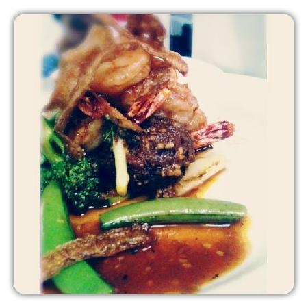 Monggo Restaurant: Balado prawn