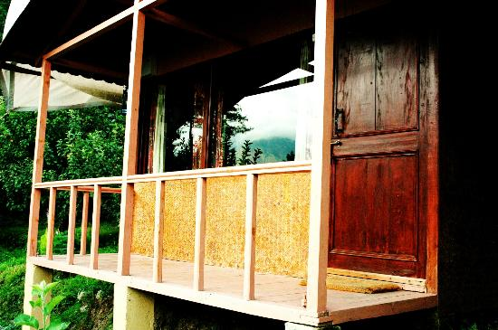 Camp Himalayan : Cottage Veranda