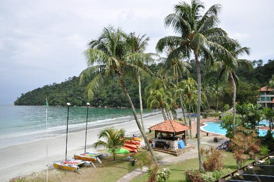 Pangkor Island Beach Resort: View from Hornbill Terrace