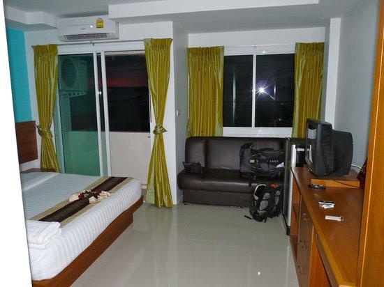 Baan Suwan Guesthouse: La chambre que j'occupais
