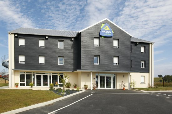 Akena City : Facade Hotel AKENA Dol de bretagne.www.hotels-akena.com