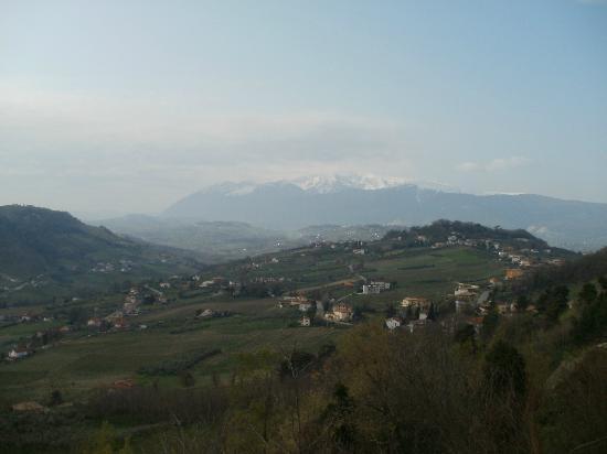 Locanda Del Vecchio Borgo : la splendida vista dalla camera
