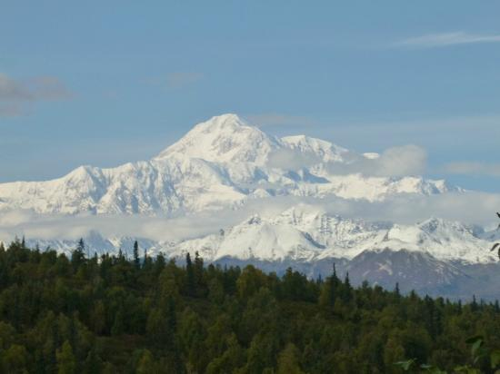 Mt. McKinley Princess Wilderness Lodge: View of Mt. Mckinley from the lodge 