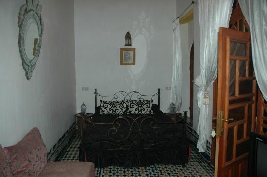 Dar Kenza: Una de las habitaciones