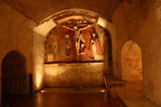 Hotel Museo Spa Casa Santo Domingo: CRIPTA