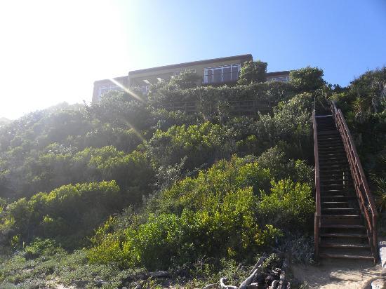 Dune Guest Lodge: vue de la plage