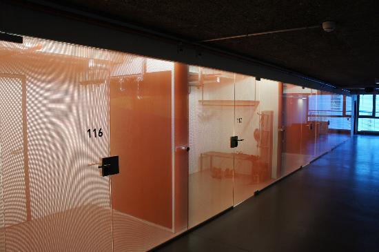 Cube Savognin : Zimmer-Vorraum