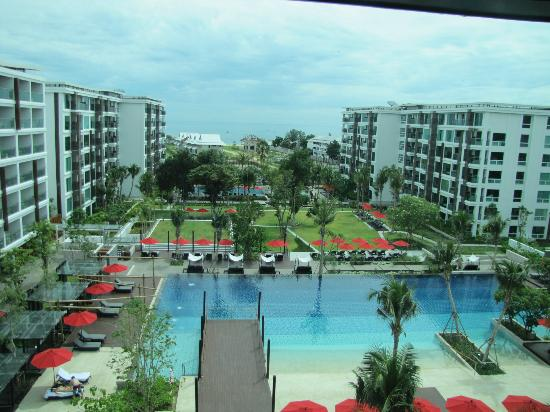 Amari Hua Hin: view from the 6th floor