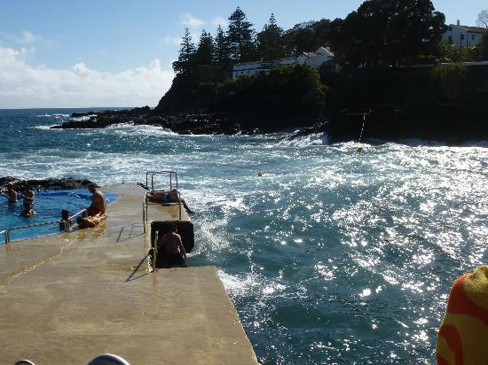 """Quinta do Mar: Meerwasser """"Schwimmbecken"""""""