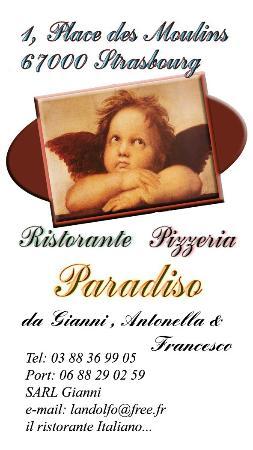 Ristorante Paradiso: CV