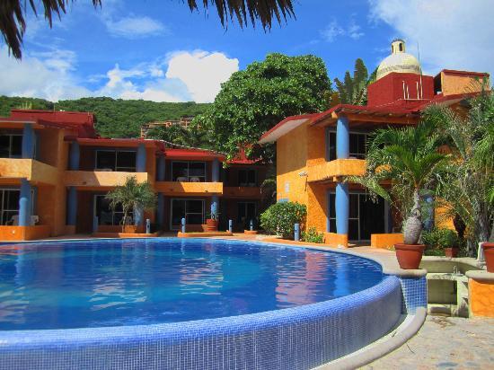 Villa Mexicana Hotel: Der saubere Pool