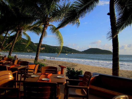 Villa Mexicana Hotel: Das Restaurant nächst zum Strand