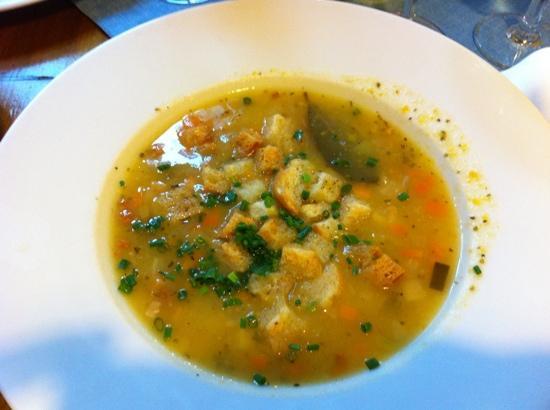 Zum Fegerer: zuppa del giorno