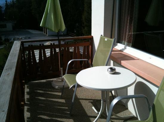 Hotel Art de Vivre: le balcon