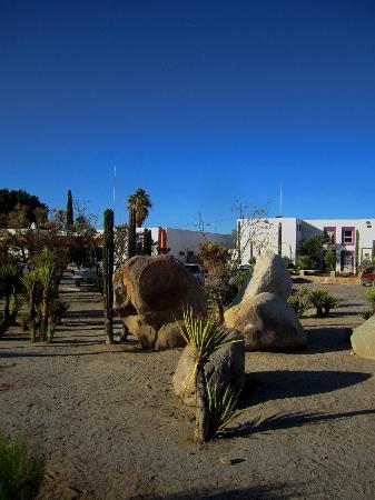 Desert Inn Catavina: Hotel eingangsseitig