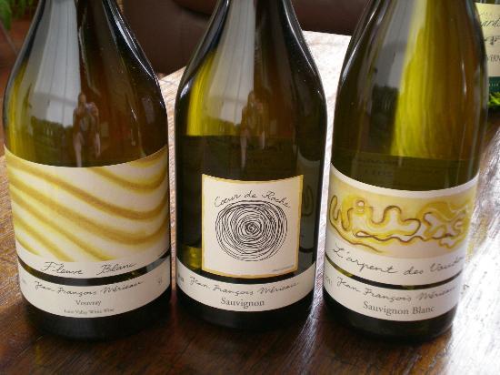 Le Hameau des Vignes : vins blancs de la propriété