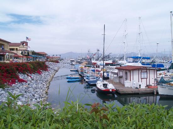 Ventura Harbor Village Dock At