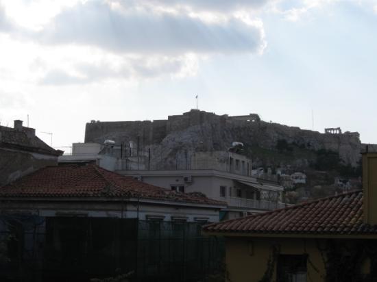 Electra Palace Hotel - Athens: 部屋のテラスから