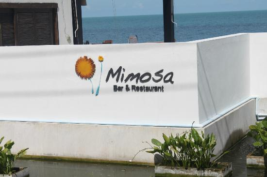 Mimosa Resort & Spa: Restaurent