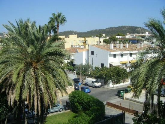 Viva Rey Don Jaime Hotel: View from our room