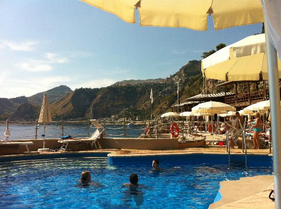 Atahotel Capotaormina: View from the Swimming pool