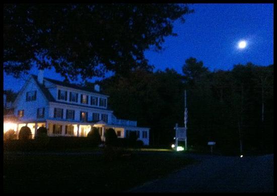 Harpswell Inn by Moonlight