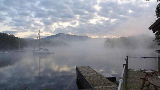 Pullwood Bay: View from Wyke Bay in the morning