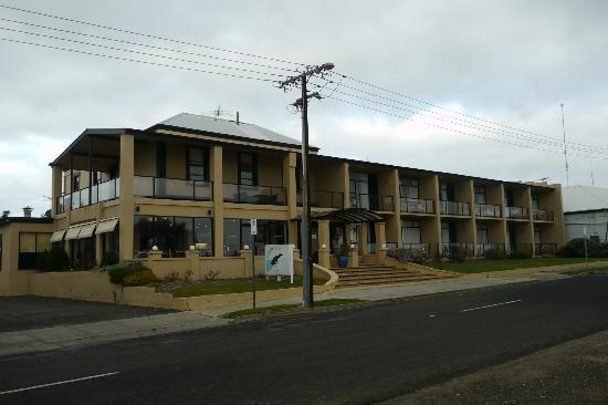 Kangaroo Island Seafront: ホテル全景