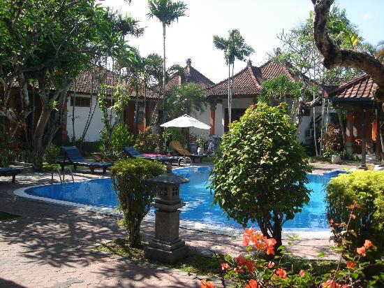 Hotel Sinar Bali: The pool from Room 9