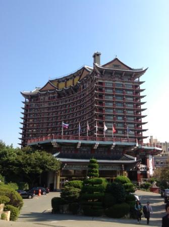โรงแรมคอมโมดอร์: Modified Korean architeacture hotel in Busan