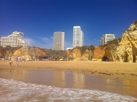 Beach Two Mins Away Picture Of Apartamentos Jardins Da Rocha