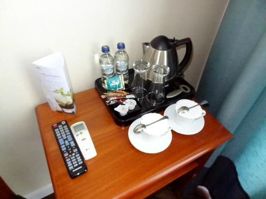 Senacki Hotel: In-room coffee