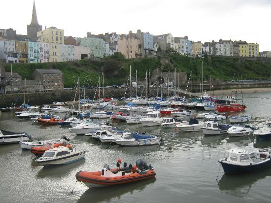 The Esplanade: the harbour in tenby