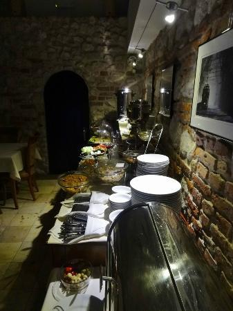 Senacki Hotel: Breakfast buffet detail