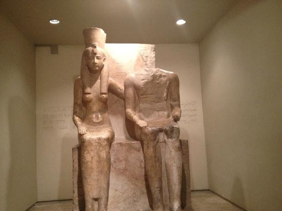 Luxor-Museum: Amun and Mut from the time of Rameses II