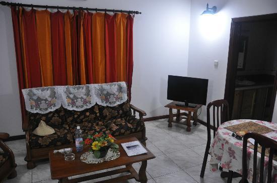 Chalets d'Anse Reunion: Salon