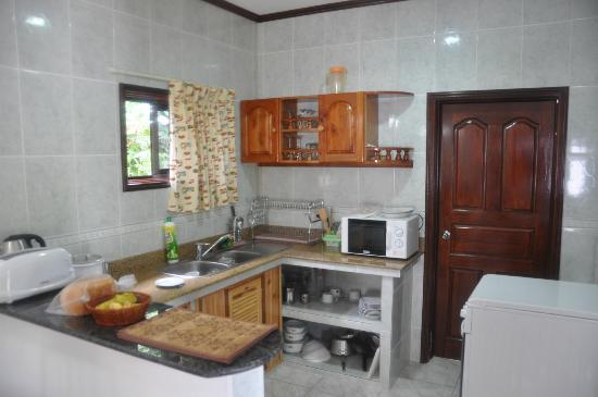 Chalets d'Anse Reunion: Cuisine