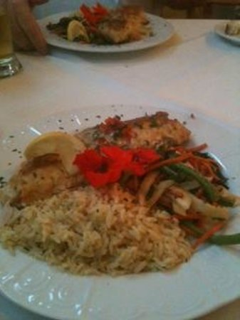Stella's: Trout stuffed with crab