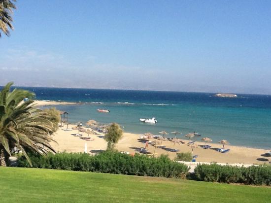 Hotel Paros Philoxenia: vue de notre chambre/terasse