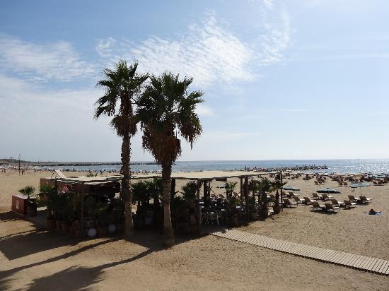 beach entry - Picture of Nova Mar Bella Beach, Barcelona - TripAdvisor