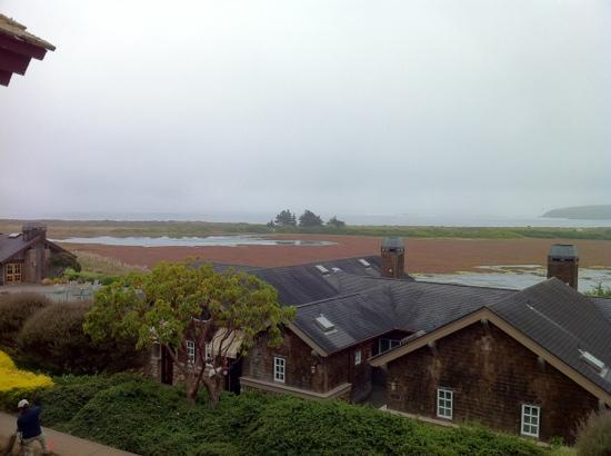 Bodega Bay Lodge: view from my room