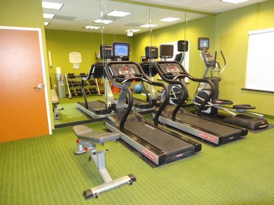 Fairfield Inn & Suites Twentynine Palms-Joshua Tree National Park: Fitness-Raum