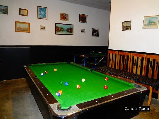 Brook Boutique Hotel & Spa: Games room