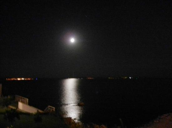 Hotel Split: Moon over the Adriatic from Room 12