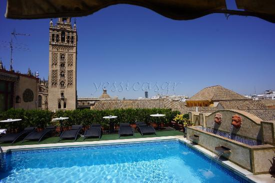 Hotel Dona Maria: Piscina