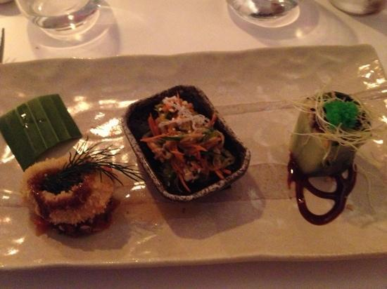 The Red Box: the second course of the tasting menu