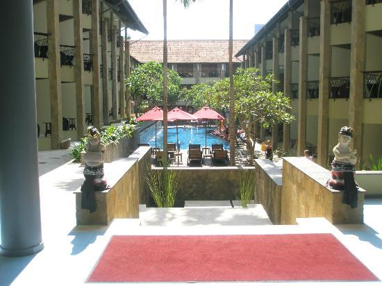 All Seasons Legian Bali: View from the lobby